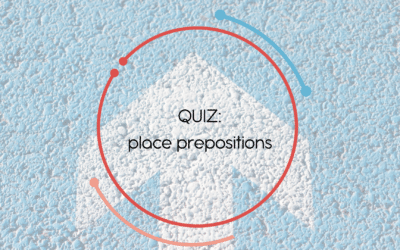 Quiz : place prepositions in French